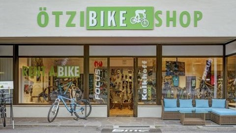 Ötzi Bike Shop & Academy in Naturns