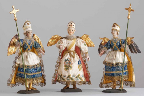 Angeli di un presepe barocco