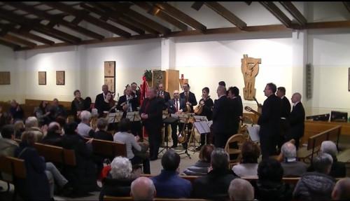Il concerto tenutosi nel dicembre 2017 nella Chiesa della Visitazione.