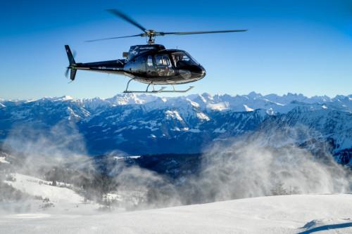 Rundflug Dolomiten