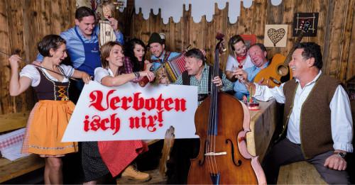Das Ursprung Buam Musical in Neustift Fasching 2019