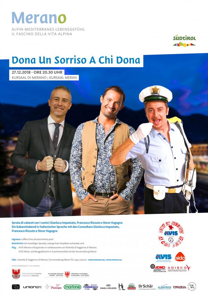 Dona Un Sorriso A Chi Dona - Merano - Tutte le date