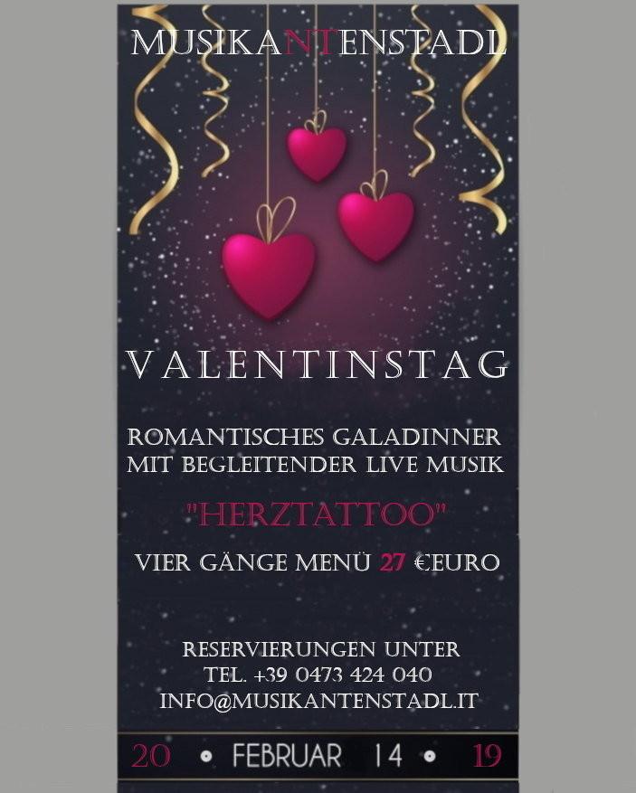 Valentinstag Galadinner Marling Alle Termine