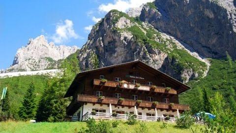 Restaurant Berggasthaus Dreischusterhütte in Innichen
