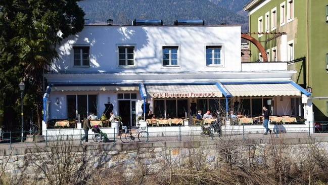 Café Promenade in Meran