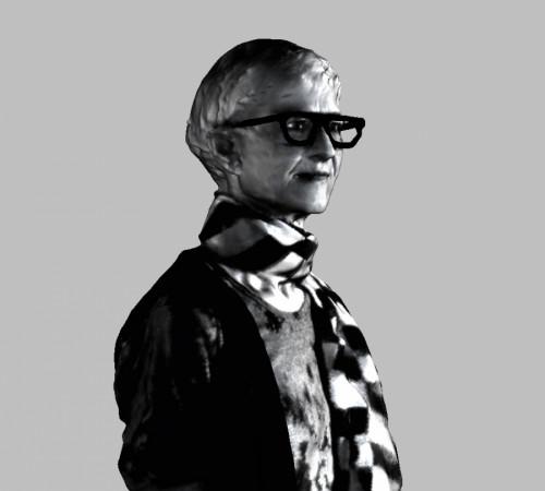 Karin Sander, Karin Sander 1:5, specchiata, 2018, © the artist & VG Bild-Kunst, Bonn 2019
