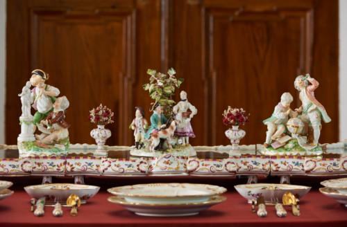 Hofburg Brixen Bressanone: Wiener Porzellan, 1765