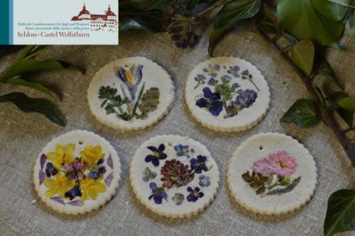 Schloss Wolfsthurn: Mandala di fiori