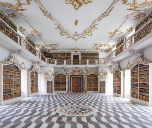 Richard Gröner - Kloster Neustift: Biblioteca nell